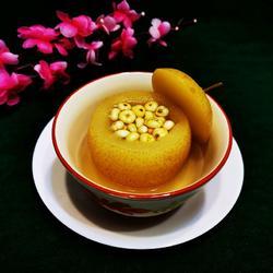 川贝炖苹果梨