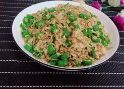 青椒炒虾皮