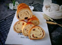坚果燕麦素油面包