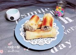 香煎蜜豆香芋卷