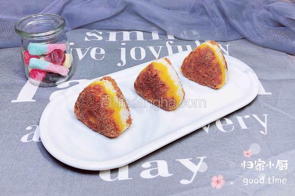 肉松南瓜饭团(10分钟快手餐)