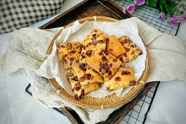 核桃红枣养生糕