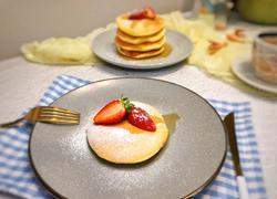 舒芙蕾松饼(无油无泡打粉)