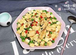 香煎鱼柳焖豆腐