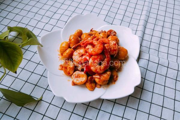 鲜虾烧板栗