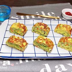 芝士裙带菜厚蛋烧(5分钟快手餐)