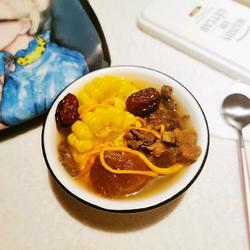虫草花驴肉汤