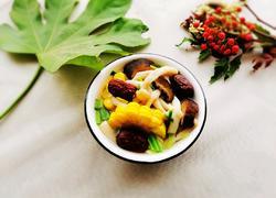 姜枣玉米菌汤