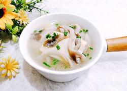 养生菌菇豆腐汤
