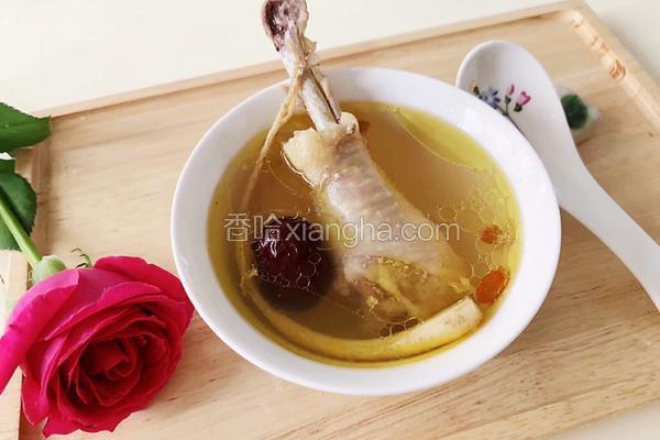 鲜人参炖鸡汤
