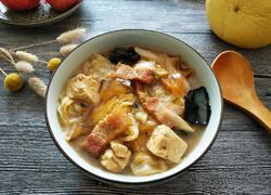 白菜五花肉炖冻豆腐