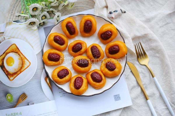南瓜红枣糕