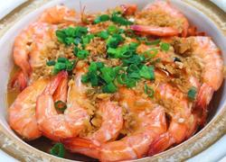 萝卜金针菇虾煲