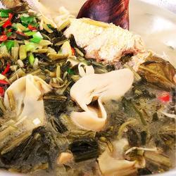 雪菜笋干黄鱼汤