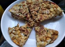 香酥馒头披萨