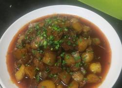 土豆红烧肉
