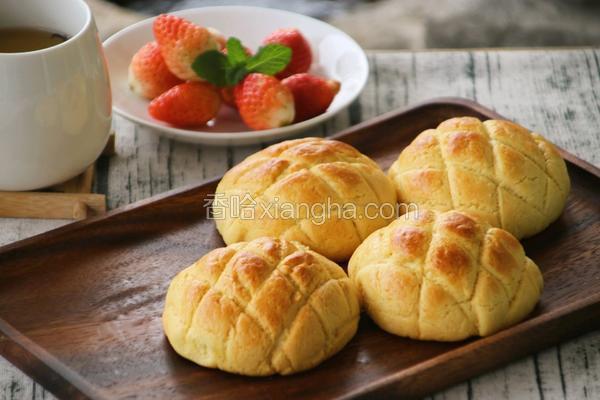 菠萝包(汤种法)