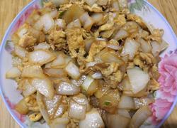 超简单又下饭的圆葱(洋葱)炒鸡蛋