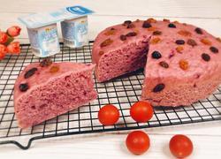 红枣酸奶紫薯发糕