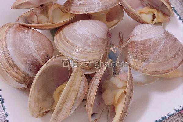 清水煮花蛤
