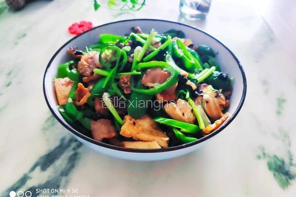 青椒豆腐五花肉