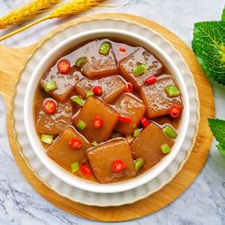 红烧魔芋豆腐的做法[图]