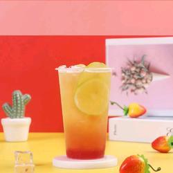 香茅莓莓水果茶