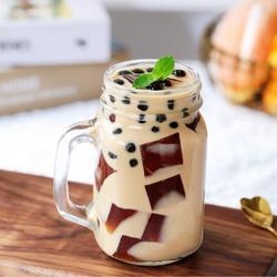 茶冻撞珍珠奶茶