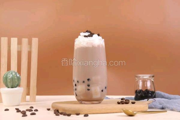 雪顶可可奶茶
