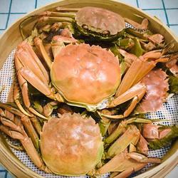 清蒸稻田蟹