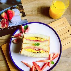 五分鐘早餐,培根煎蛋三明治的做法[圖]