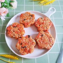 花朵午餐肉飯團的做法[圖]