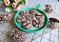 巧克力裂纹曲奇饼干