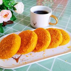 南瓜糯米餅的做法[圖]