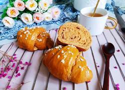 红糖红枣面包卷