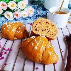 红糖红枣面包卷的做法[图]
