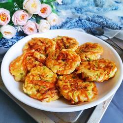 蔬菜鸡肉饼(低卡减脂)的做法[图]