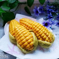 彩蔬玉米馒头的做法[图]