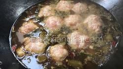 酸菜粉丝肉丸汤的做法图解14