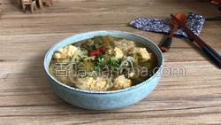 酸菜粉丝肉丸汤的做法图解20