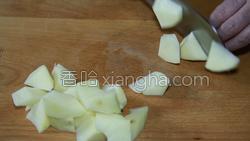土豆炖茄子的做法图解1
