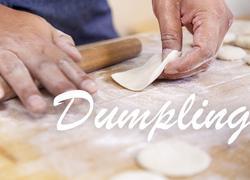 饺子皮的制作
