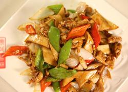 杏鲍菇炒肉片