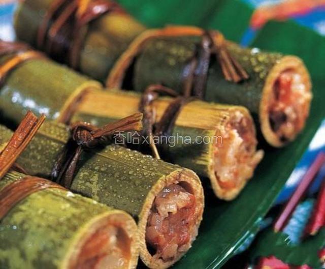 傣族竹筒饭